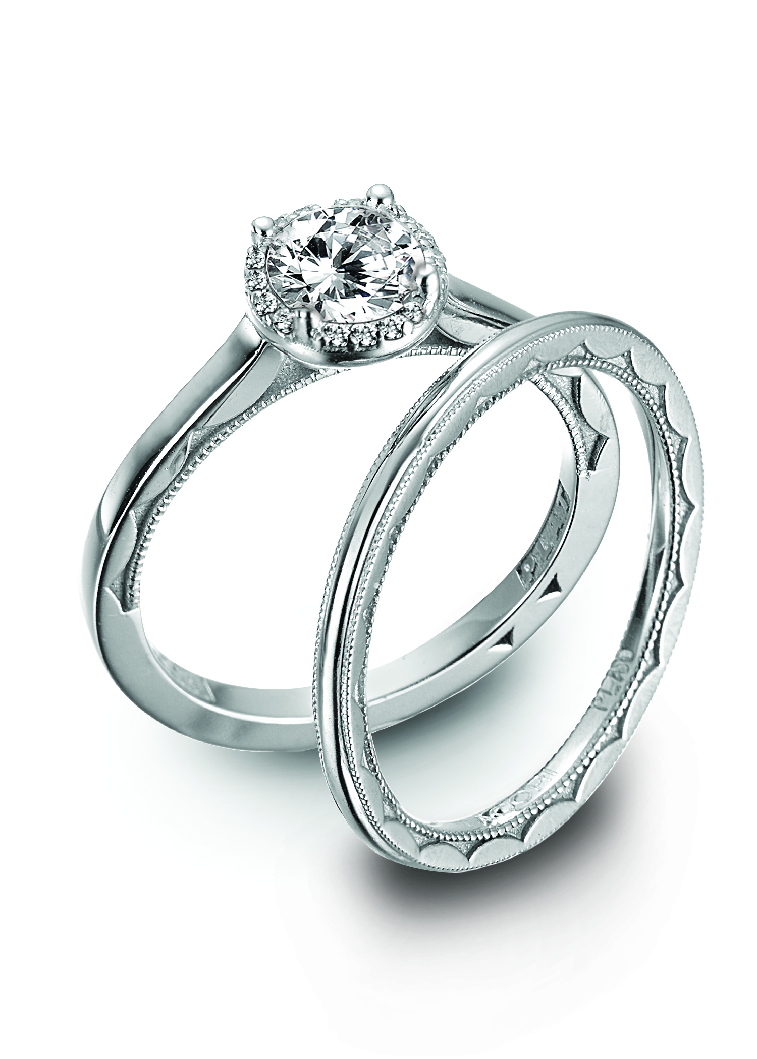 platinum engagement ring tacori 1 2 the looking